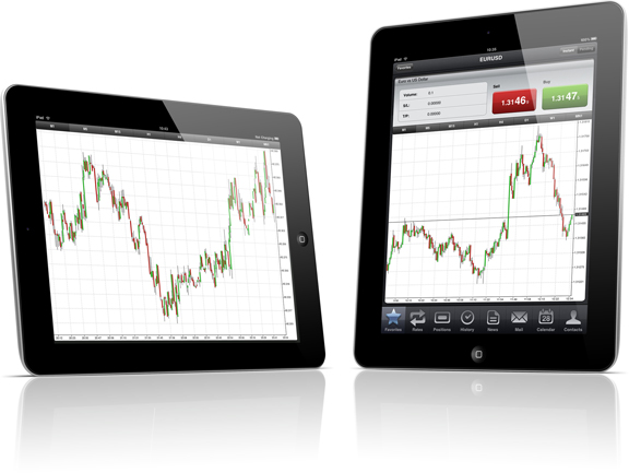 Golden Royal Index iPad Trading Appm Splash Image