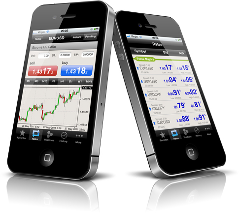 Golden Royal Index iPhone Trading App Splash Image